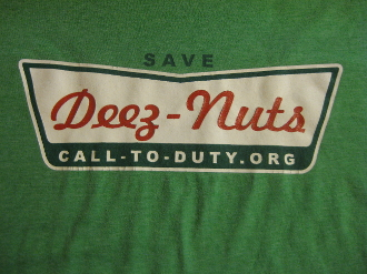 MMHO Kreamy Green Save Deez Nuts  T-Shirt